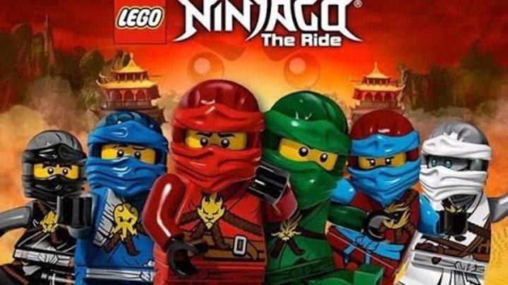Лего Игры Ниндзяго Граница Небес прохождение обзор игры на русском языке смотреть мультик все серии.