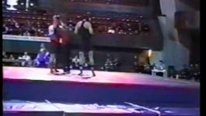 6th World Wushu Championships Armenia 2001 +90kg Semi-final