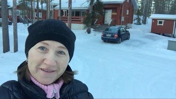 VLOG: Рождественские каникулы || Съемный финский домик || Финский горнолыжный курорт