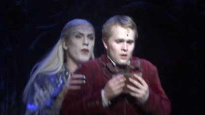 Бал вампиров (Tanz der Vampire).Сцена в библиотеке. Когда любовь в тебе (Как нежная скрипка)