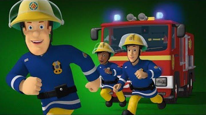 Пожарный Сэм на русском   Окруженный пламенем -лучший спасает 🚒Компиляция  Новые серии 🔥мультфильм