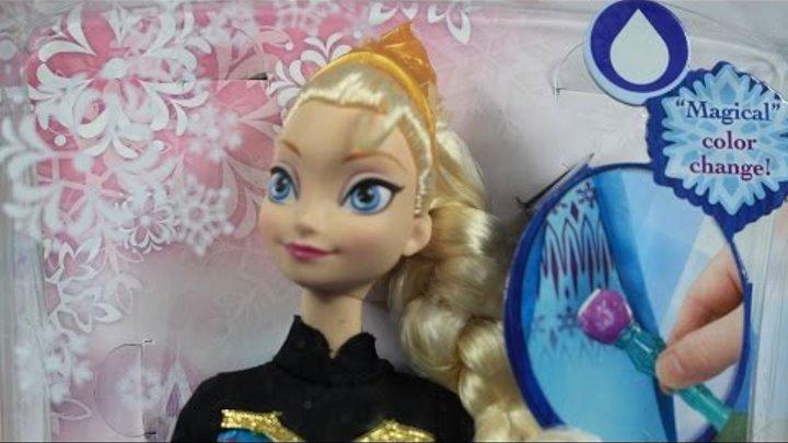 Кукла Эльза с волшебной кистью / Color Change Elsa Doll - Холодное сердце / Frozen - Disney - Y9964