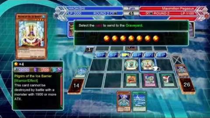 Yu-Gi-Oh! Millennium Duels on Normal mode with Ice Barrier deck (1080p HD 60fps)