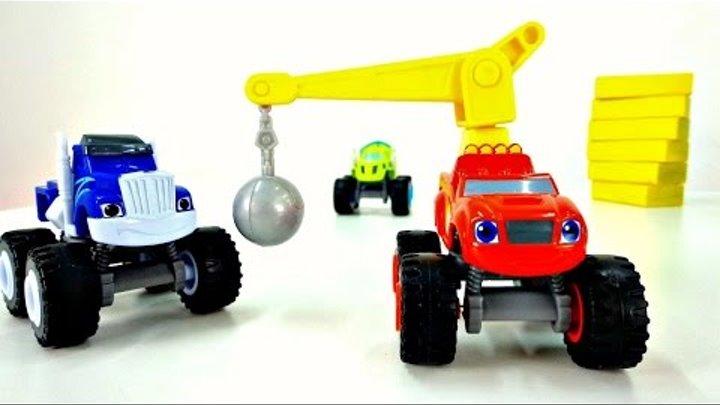 Dessin animé. Voitures: la COURSE de Zeg et Crusher. Vidéo avec voitures #voitures