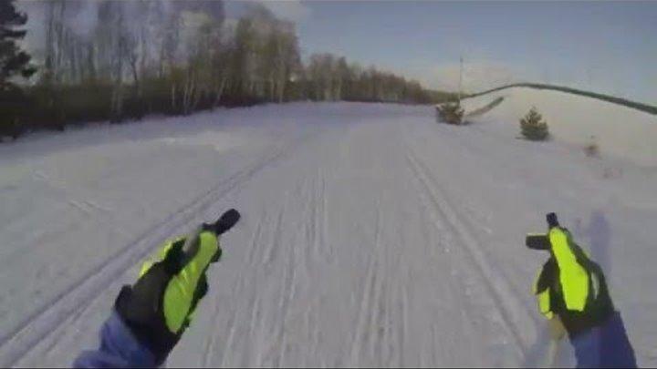 Мария Лукьянова лыжи гоупро биатлонный комплекс Рязань