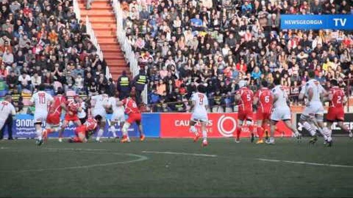 Сборная Грузии по регби выиграла у России со счетом 33:0