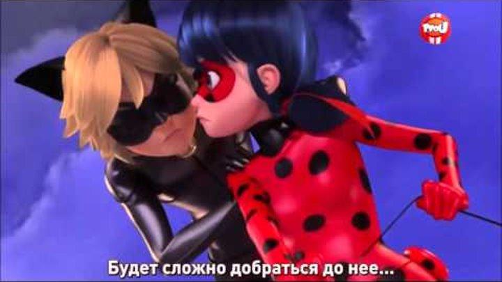 Русские субтитры ⁄⁄ ЛедиБаг и Супер кот 1 сезон, 20 серия Часть 2⁄2 Злой Гитарист