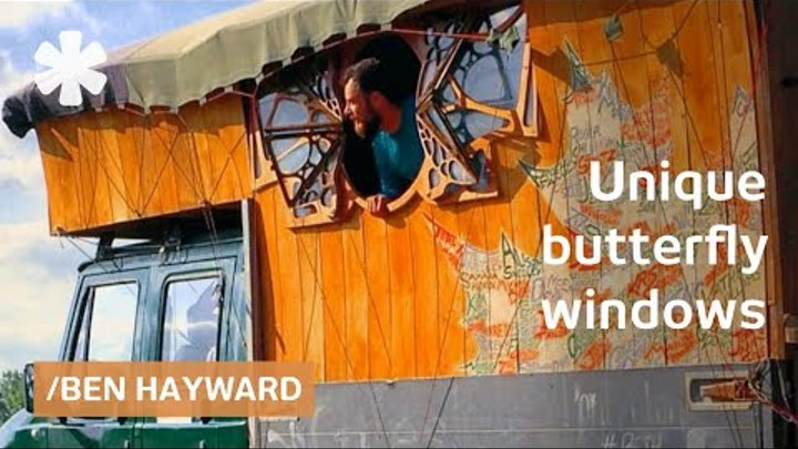 "Top-ranked kayaker builds ""Hobbit Van"" for life on the road"