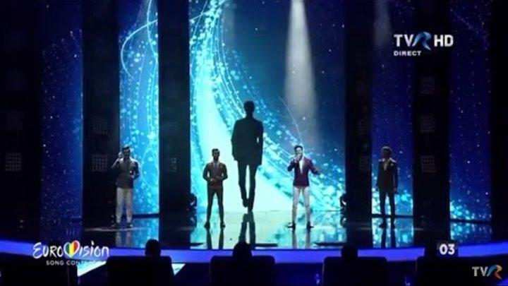 "Dream Walkers - ""Let it shine""   Finala Eurovision România 2016"
