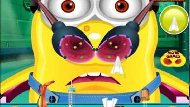 Миньоны Игры—Гадкий Я Доктор—Мультик Онлайн Видео Игры Для Детей 2015 Minions
