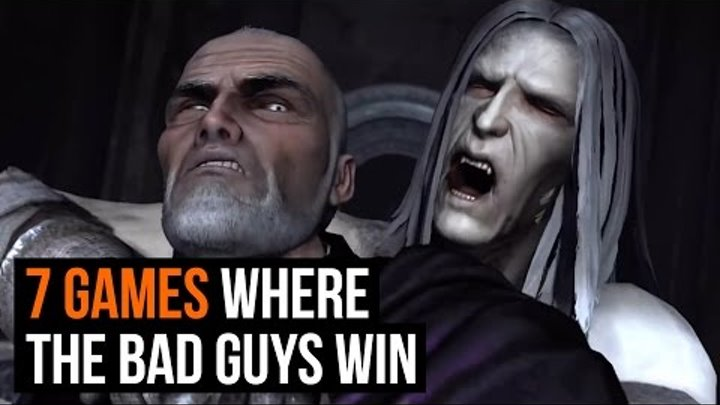 7 games where the bad guys win
