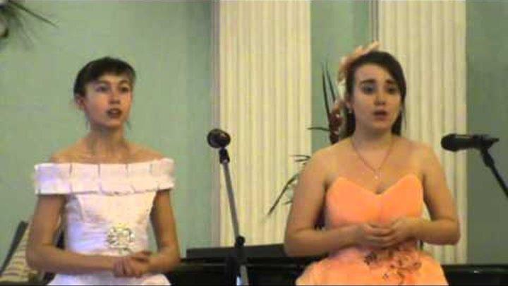 """Чайковский. Опера """"Пиковая дама"""". Дуэт Лизы и Полины."""
