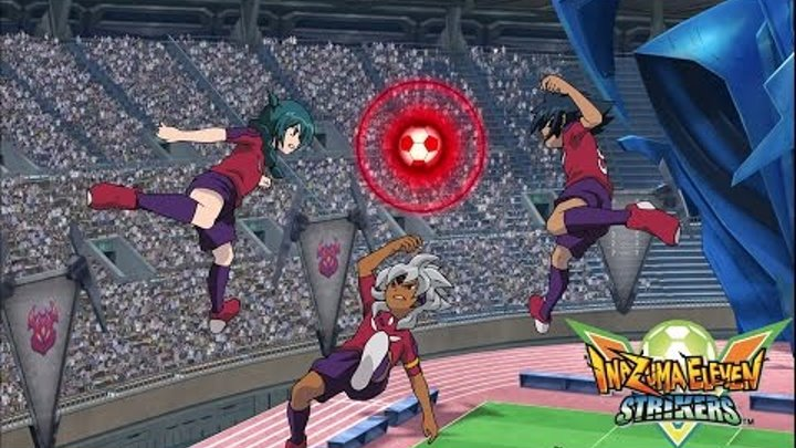 Inazuma Eleven Strikers Go 2013 Team Ogre vs Story Mode Wii Epic Hissatsus (hacks for Dolphin)