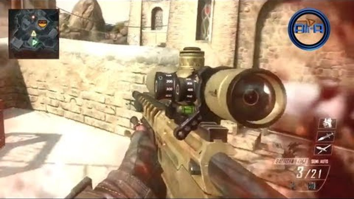 """BLACK OPS 2"" Multiplayer GAMEPLAY - Sniping & Quickscoping w/ Ballista! - Call of Duty BO2"