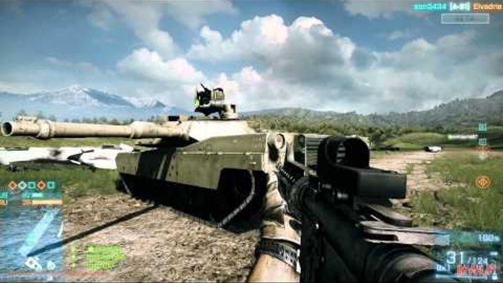 ▶ Battlefield 3™ Beta - Обзор карты «Caspian Border» #3 [«Игромания»]