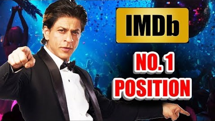 Shahrukh Khan On No.1 Position In IMDb List Of Top 10 Actors