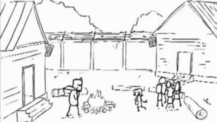 Лектор-каннибал против дома 2