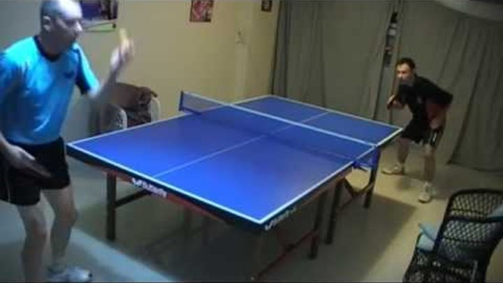 table tennis match Best points ever backhand spectacular training rally