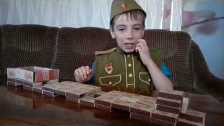 Бронепоезд из спичечных коробков / Делаем Игрушки своими руками / Игрушечные солдатики Toys soldiers