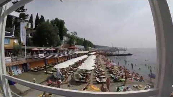 Крым Ялта 2016г август ПАНАЕХАЛИ!!!