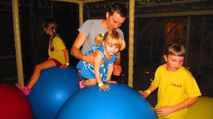 ЛЕОПАРК - детский развлекательный комплекс, детские горки, лабиринты для детей, батуты для детей.