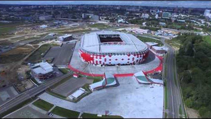 Стадион Открытие Арена, Спартак
