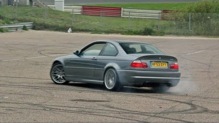 4x BMW E46 M3 CSL - BURNOUT Sounds!!