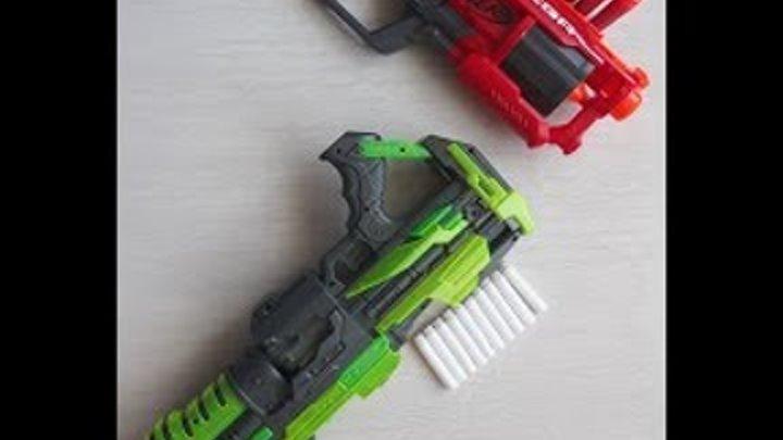 Контрольная закупка - Бластеры. Игрушечное оружие, Пистолеты, Подделки Нерф Обзор