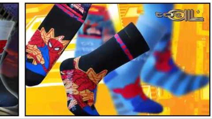 Носки «Человек-паук» из серии Marvel