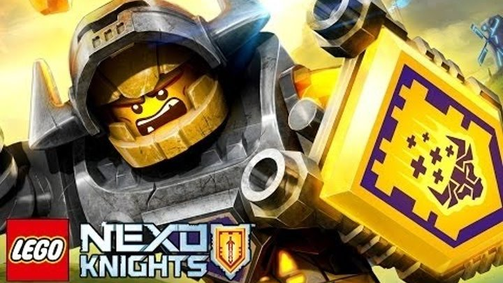 Мультик Игра Лего Рыцари Нексо. Битва с Молдроном .Серия №17#Лего
