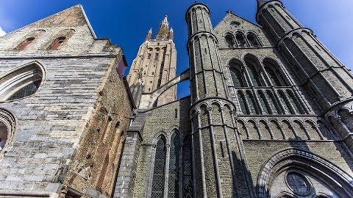 Церковь Богоматери Брюгге Onze-Lieve-Vrouwekerk Brugge готическая церковь XII—XIIIвека