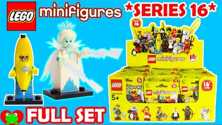 Lego Minifigures SERIES 16 71013 Full Set