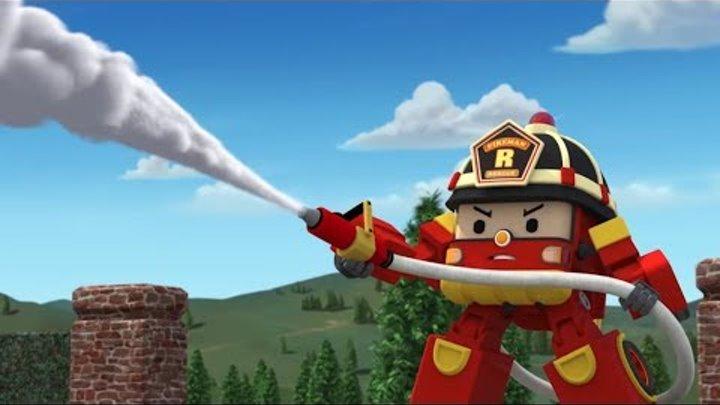 Робокар Поли Новые серии - Рой и пожарная безопасность - Мультик про игрушки трансформеры