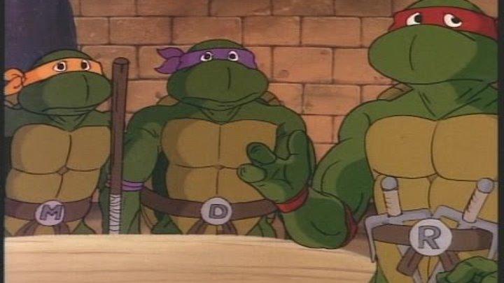 Черепашки мутанты ниндзя - По следу черепах / Teenage Mutant Ninja Turtles - Turtle tracks