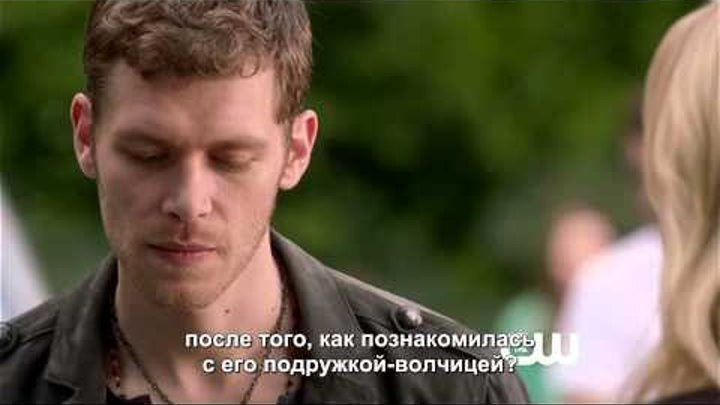 Дневники Вампира - 7 серия 4 сезон, отрывок (rus sub)