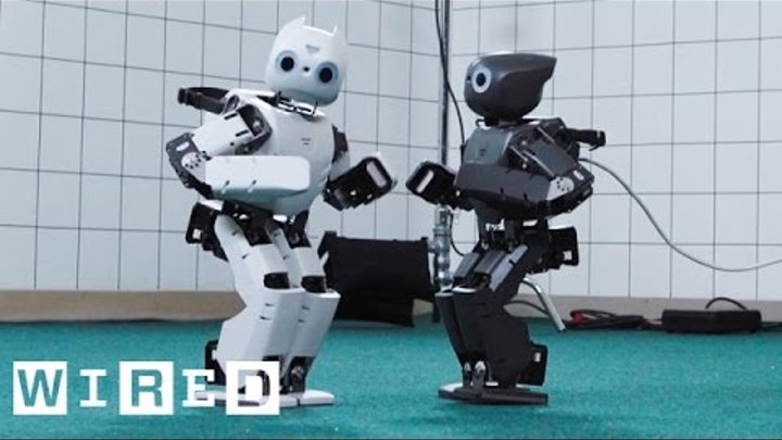 Robot Running Man Challenge | WIRED Lab