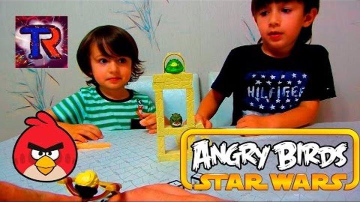 """Angry Birds """"Star Wars"""" Game. Злые птички """"Звездные войны"""" Игра"""