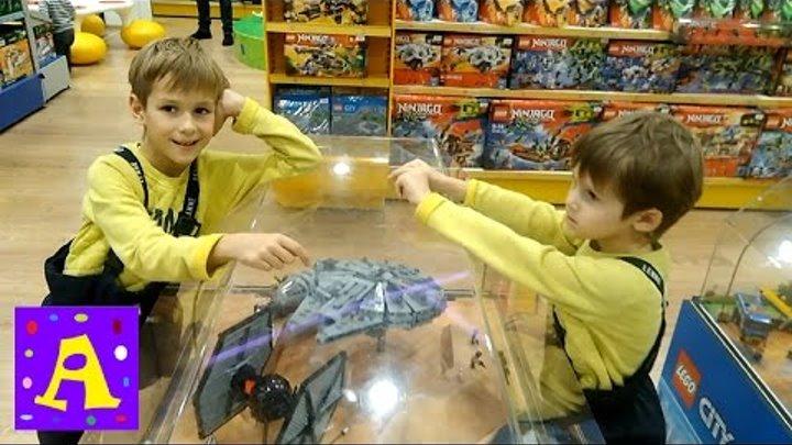 Лего Звёздные Войны Обзор в Магазине Игрушек