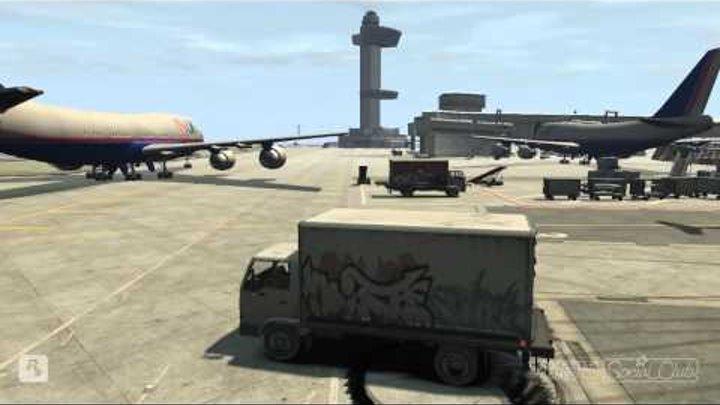 Прыжки и приколы в GTA 4