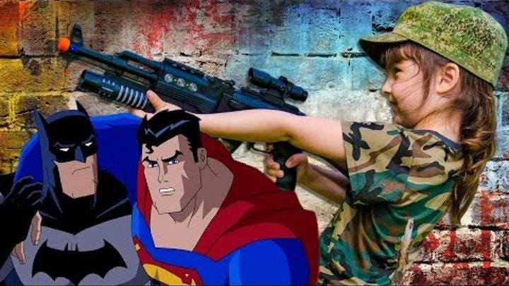 ПОХИЩЕНИЕ ВЫКУП СПАСЕНИЕ ПРИНЦЕСС Черепашки Ниндзя Супермен Бэтмен Лекс мультики игрушки обзор