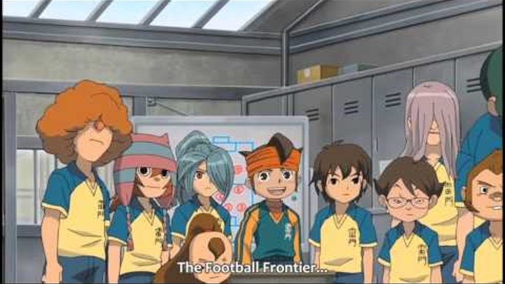Inazuma Eleven Episode 3 Part 1 - Call Out the Killer Technique! [HD]