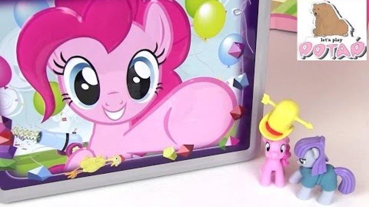 Пони Пинки Пай и Мод Пай Играют с Коллекционными Карточками!!! Май Литл Пони Игрушки для Девчонок