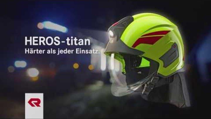 HEROS-titan Feuerwehrhelm - Rosenbauer