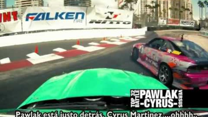 Team Falken 2011 Formula Drift Round 1 Long Beach - PRMotor TV subtitulos
