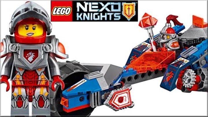 LEGO Nexo Knights 70319 Молниеносная машина Мэйси Обзор. Лего Нексо Найтс новый Щит Нексо Силы