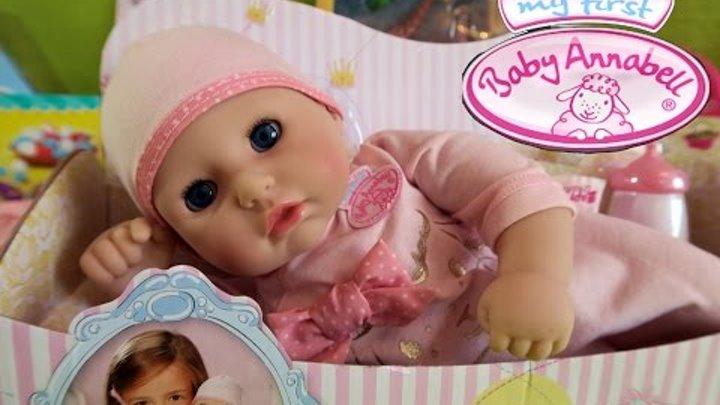 Пупсик Моя первая кукла Беби Анабель My First Baby Annabell Zapf Creation
