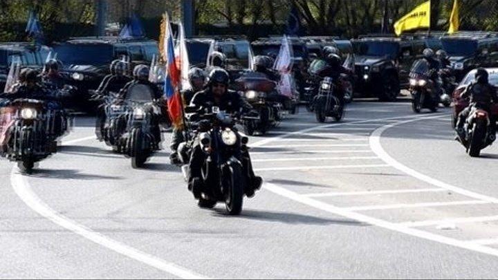 Закрытие Мото Сезона 2013 (Москва, Ночные волки) / Closure Moto Season