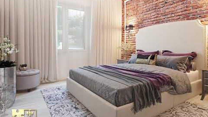 """Дизайн евро-трехкомнатной квартиры в стиле современная классика в ЖК """"Адмирал"""", г.Краснодар."""