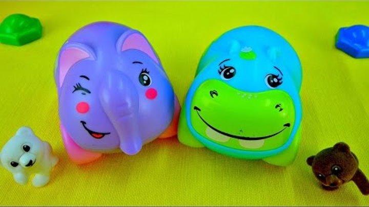 Мультик про машинки. Гиппи и Элли. Серенада и сюрприз. Видео с игрушками для малышей.
