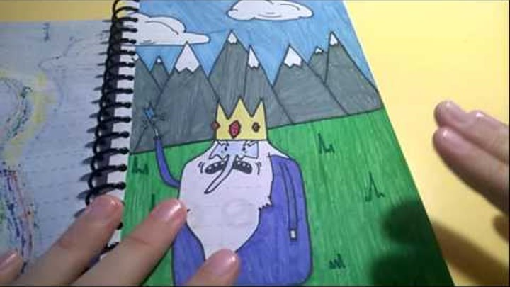 "Мои рисунки ""Время Приключений"" часть 1"